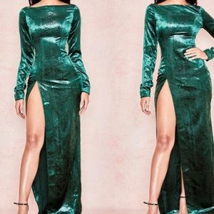 Sexy House of CB Velvet dress